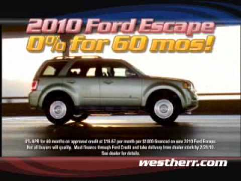Buffalo Ford Dealer - West Herr Ford Hamburg NY has Zero ...