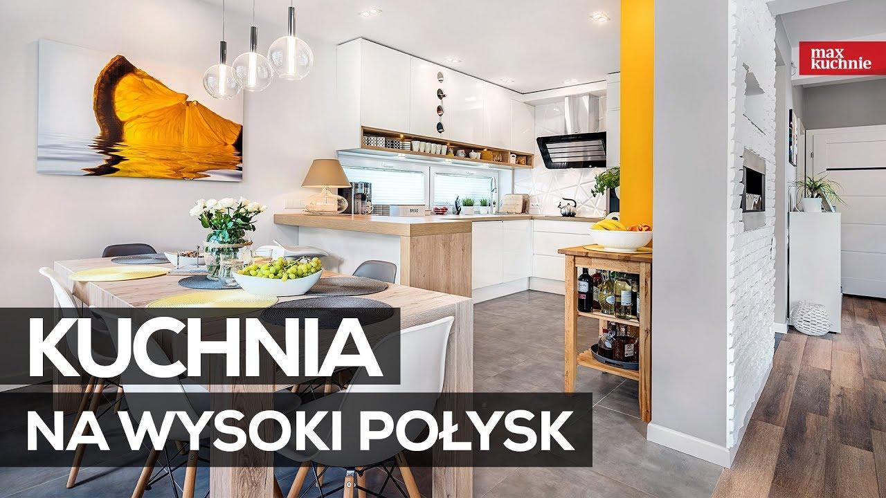 Kuchnia Na Wysoki Połysk Max Kuchnie Studio Kuchni Bb Bielsko Biała