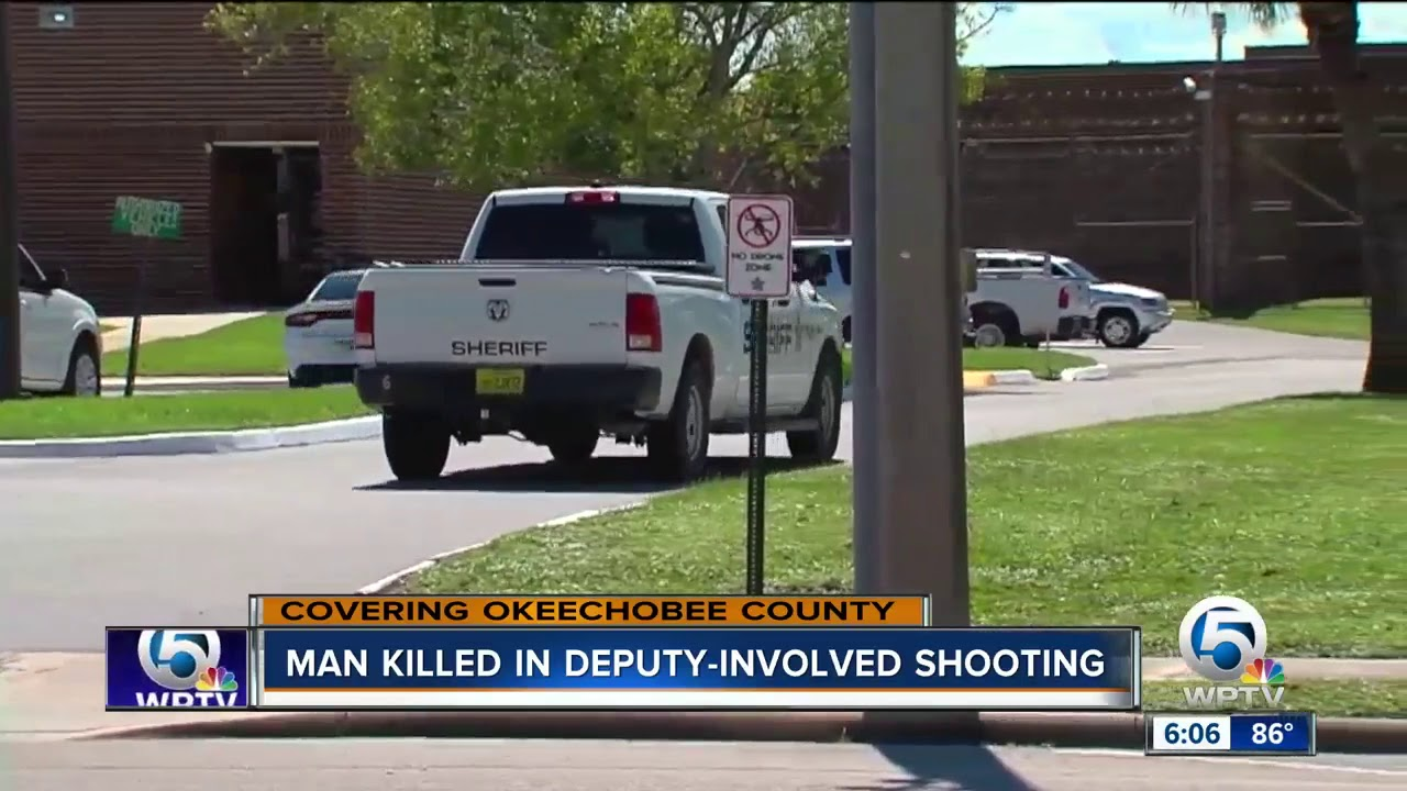 Community reacts to officer-invoved shooting in Okeechobee County