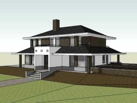 Plan voor het nieuw bouwen van een moderne villa te vorden youtube for Modern huis binnenhuisarchitectuur villas