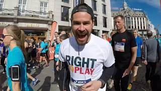 Running Sentrumsløpet 2018 | 10k | Oslo, Norway | GoPro