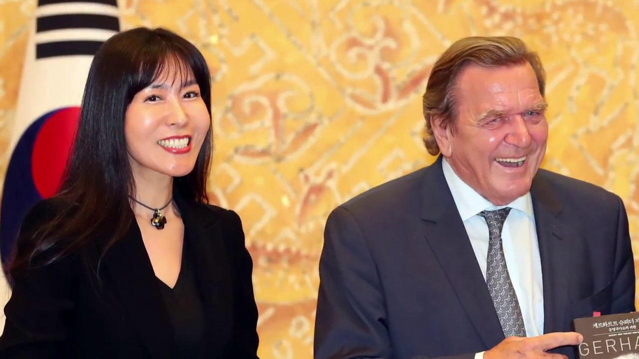 Funfte Eheringe Altkanzler Gerhard Schroder Heiratet So Yeon Kim