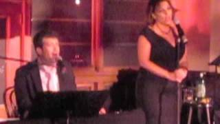 """Raise the Bar"" Anne Steele & Nate Buccieri sing closing song at Google Holiday Party"