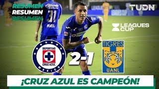 Resumen y Goles Cruz Azul 2 - 1 Tigres | Final Leagues Cup - 2019 | TUDN