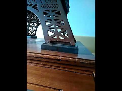 My homemade Eiffeltower in wood
