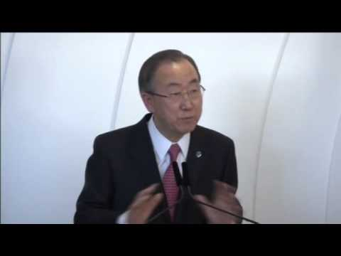 Winter Olympics discrimination cannot take place, says Ban Ki-moon