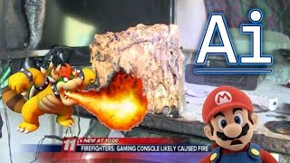 Nintendo Wii Burns Down Man's Home and Why I Don't Feel Bad