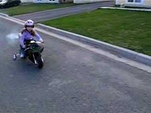 pocket bike first ride youtube. Black Bedroom Furniture Sets. Home Design Ideas