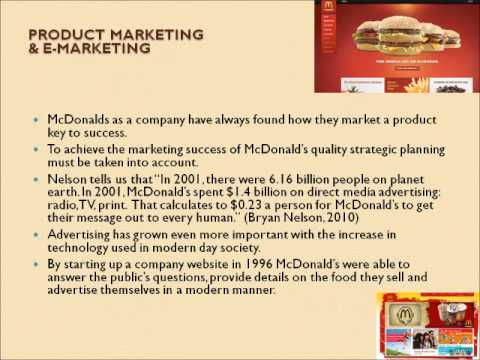 McDonald's Operations Management, 10 Decisions, Productivity