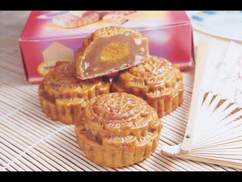 Lotus Paste #Mooncake Series # 1_R3 (Traditional Mooncake Making)