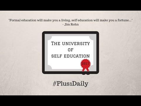 The University of Self Education - Enrolment Begins Soon!