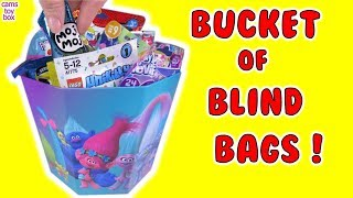 Blind Bags Opening Toy Surprises MOJ  Mickey Minnie Ryans World PJ Masks Trolls 9 My Little Pony