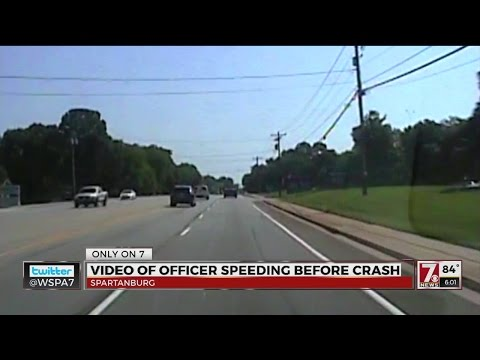 Dash Camera video of a Spartanburg Police Officer driving to call is under review by the Spartanburg
