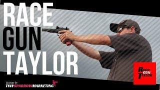 Taylor Walker (aka RaceGunTaylor) on the range in Idaho Falls