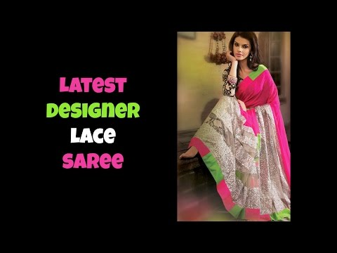 Designer Lace Saree