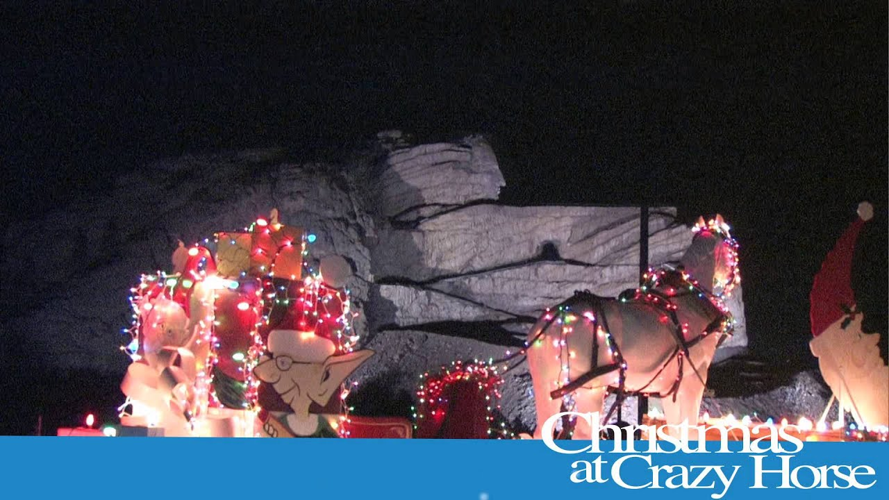 Christmas at Crazy Horse Memorial
