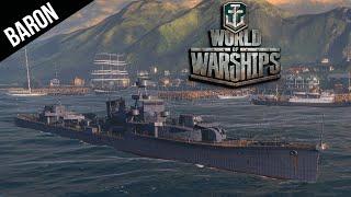 World of Warships - The Luckiest Ship in the Fleet, Yubari Japanese Premium Cruiser!