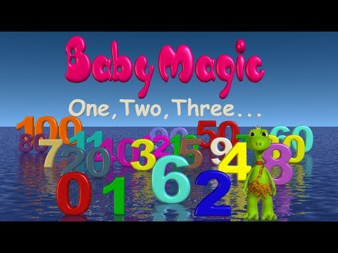 Baby Magic 123 HD #1 | The little Numbers Show | Learn to count