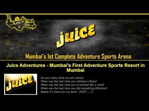Juice Adventures - Mumbai's First Adventure Sports Resort in Mumbai