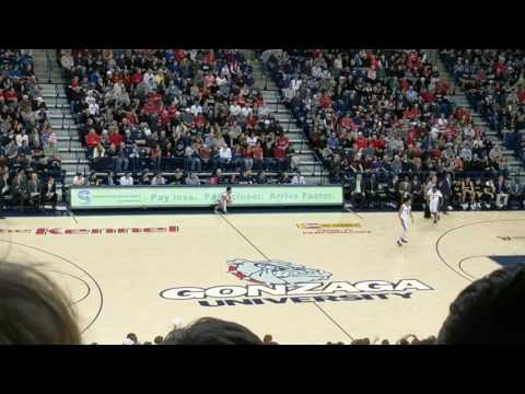 New Spokesman-Review sign at Gonzaga basketball games