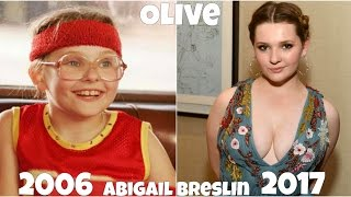 Little Miss Sunshine Then and Now