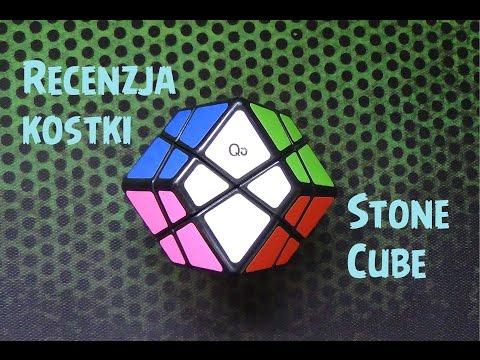 Recenzja kostki Stone cube / Skewb Rhombic dodecahedron