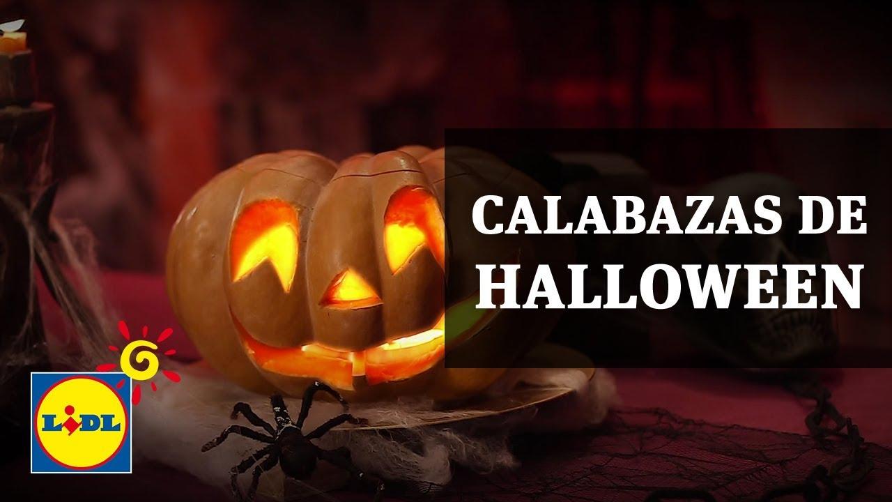 Calabazas de Halloween - Lidl España - YouTube