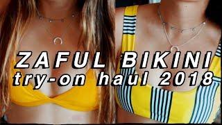 ZAFUL BIKINI TRY-ON HAUL 2018! zaful swimsuit haul and review 2018