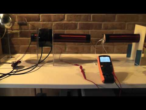 Tesla Radiant Energy One Wire Power Transmission part 1