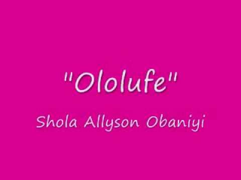 Shola Allyson Obaniyi   Ayanmo Ife from Album   Ire   YouTube