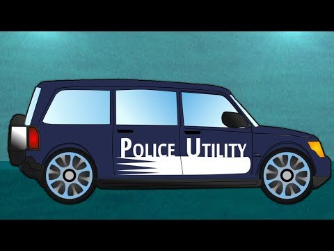 police Utilitaire véhicule | garage automobile | Kids Learn | Car Garage | Police Utility Vehicle