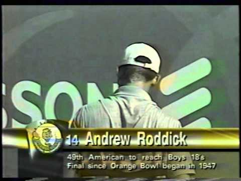 Maximilian Abel vs Andy Roddick Orange Bowl Final 1999