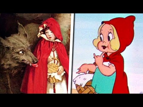The VERY Messed Up Origins of Little Red Riding Hood | Fables Explained