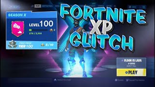*HUGE INSTANT LEVEL UP XP GLITCH* How to Level Up FAST Fortnite Season 10! AFK XP Glitch (SEASON X)