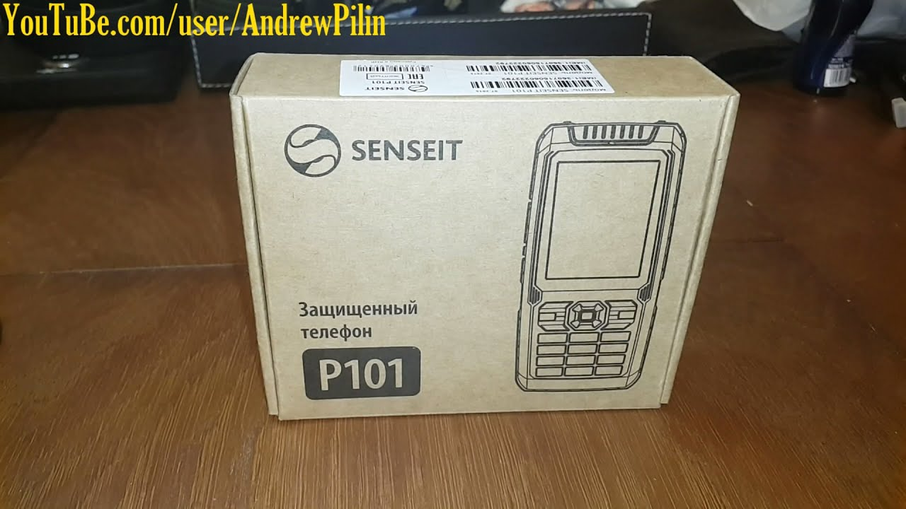 Защищенный мобильный телефон SENSEIT P101 обзор