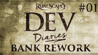 RuneScape Dev Diaries - Bank Rework #1
