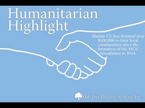 Humanitarian Highlight 3/22: Oak Tree Business Systems, Inc.