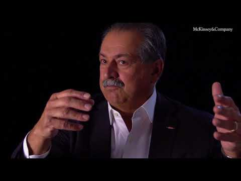 Andrew Liveris: How technology is accelerating innovation in manufacturing