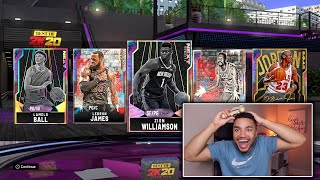 BEST OF 2K20 SUPER PACK AND PLAY!! NBA 2K20