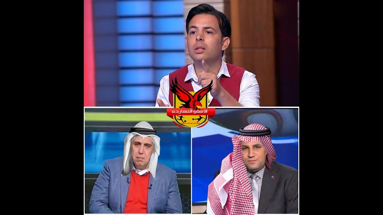 شريف جمعة يفضح اعلام الكسكسي عبدالناصر زيدان والشريف