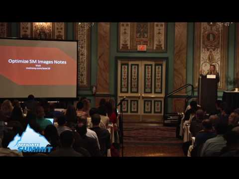 How to Optimize Images for Social Media Sharing from Affiliate Summit West 2016