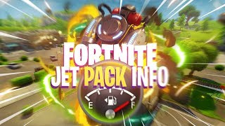 JETPACKS REQUIRE FUEL in Fortnite: Battle Royale (Jet Pack Gameplay Details)
