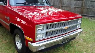 My Old Truck 81 Chevy