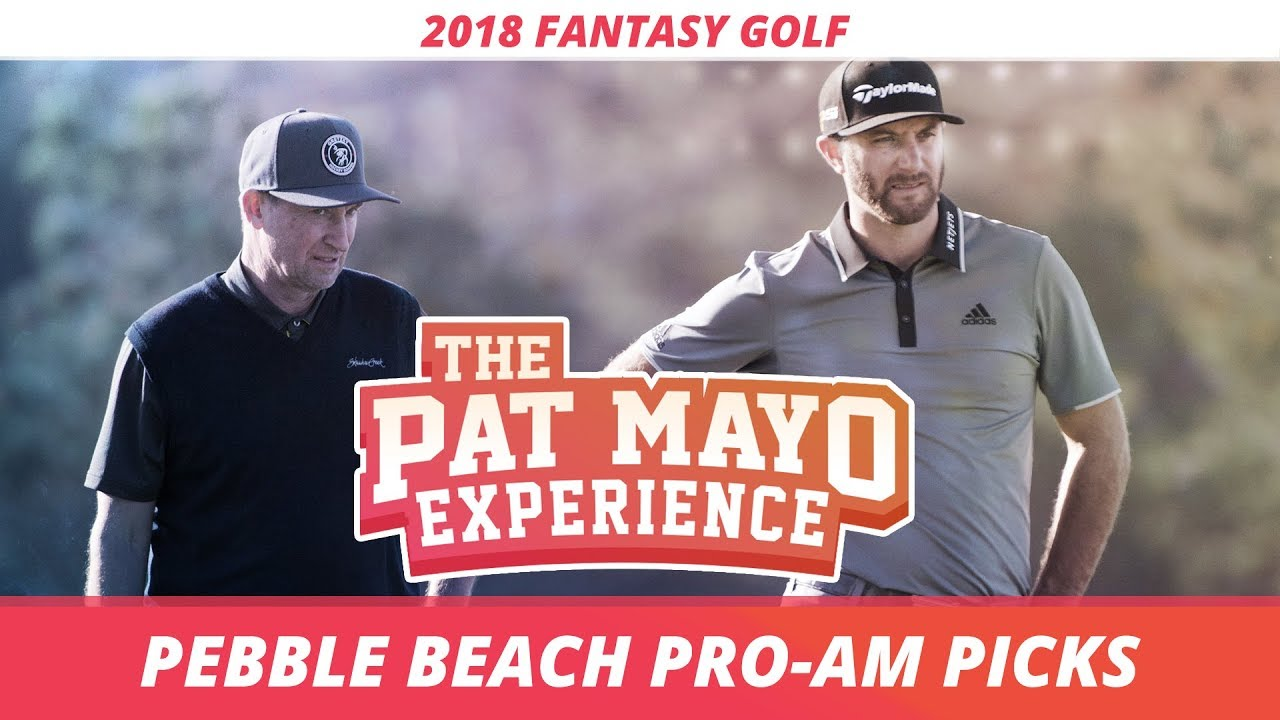 fantasy golf picks 2018 at t pro am pebble beach picks sleepers super bowl 52 recap youtube. Black Bedroom Furniture Sets. Home Design Ideas