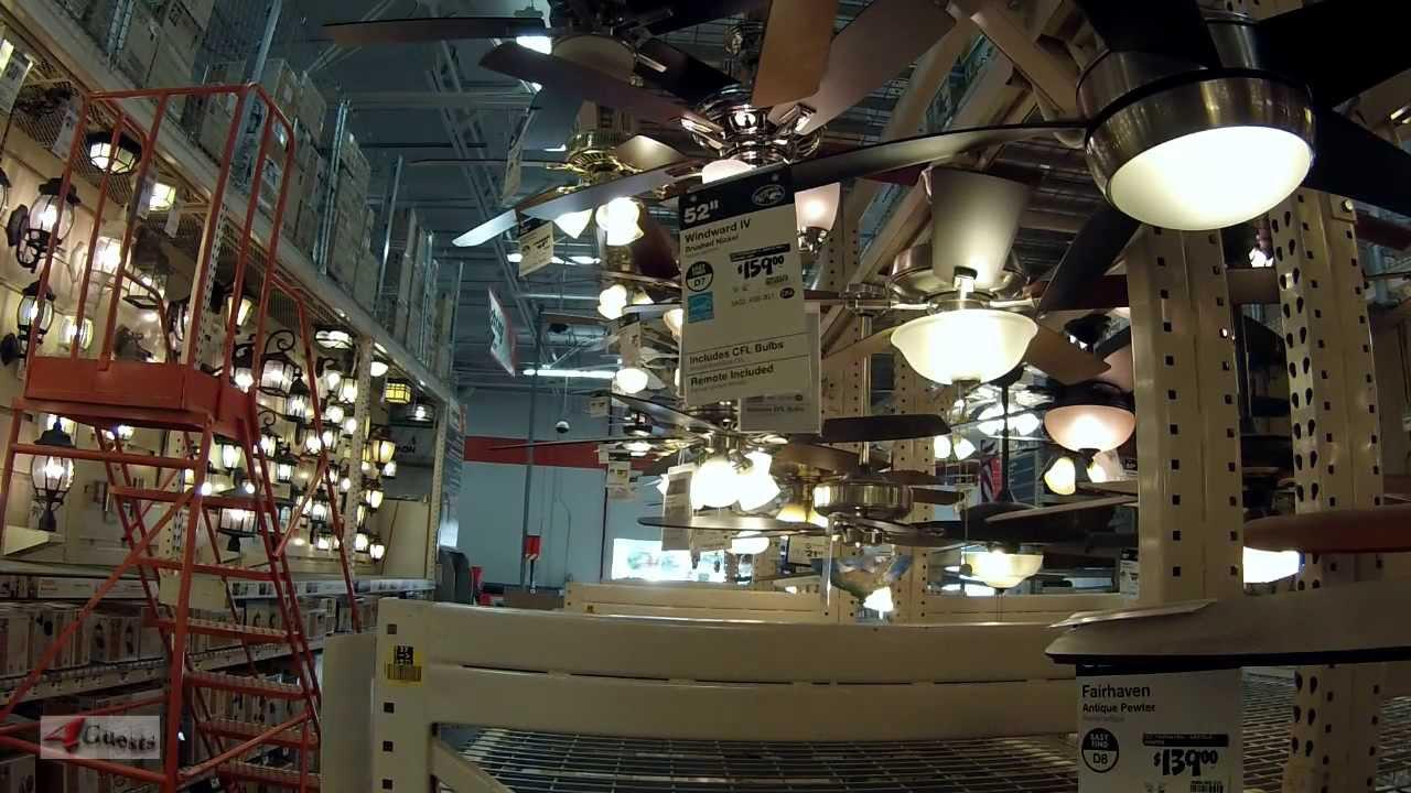 Lighting Design Ideas At Home Depot Store