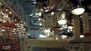 Lighting Design Ideas at Home Depot Store