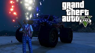 GTA 5 Online The Independence Day Special My Birthday, New Weapons and Fireworks