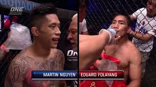 Martin Nguyen vs Eduard Folayang ONE Championship (K.O)