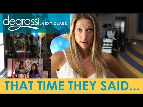 Degrassi Reunion: That Time They Said...