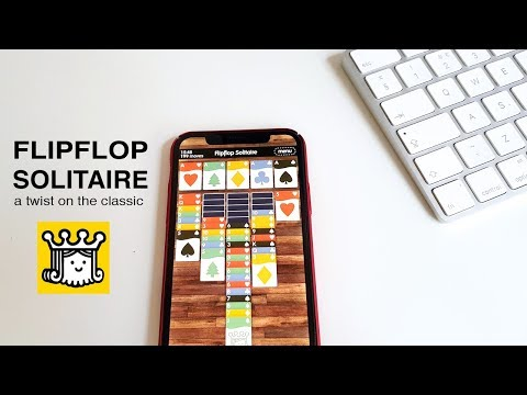 Flipflop Solitaire: a twist on the classic card game for iOS